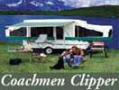 Coachmen Clipper tent trailers