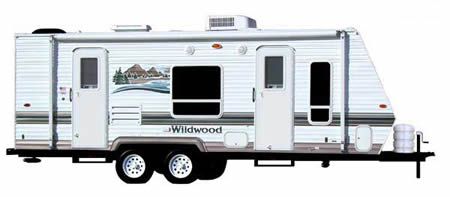 Travel Trailer Rentals in San Diego and Orange County