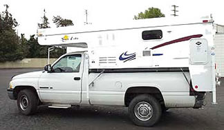 Dealer of Sun Valley Eagle pop-up and hard sided truck campers and