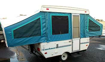 Tent Trailer Rentals in San Diego and Orange County