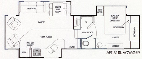 Alpenlite 5th Wheel Floor Plans Flooring Ideas and