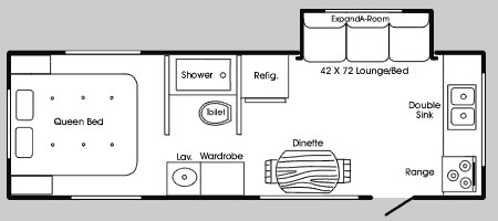 Hilo 2705t Floor Plan
